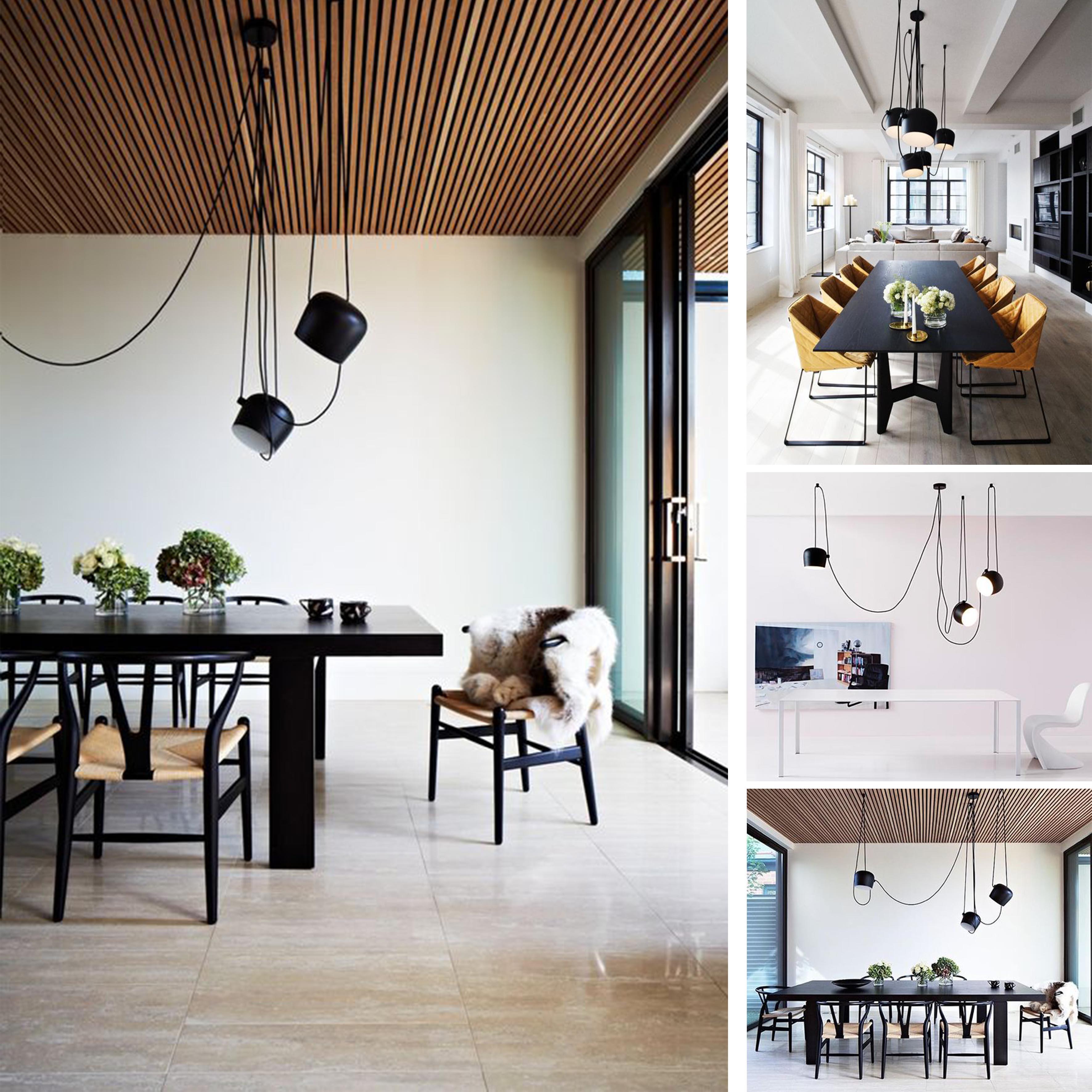 Come scegliere le lampade della casa la sala da pranzo - Lampade sopra tavolo da pranzo ...