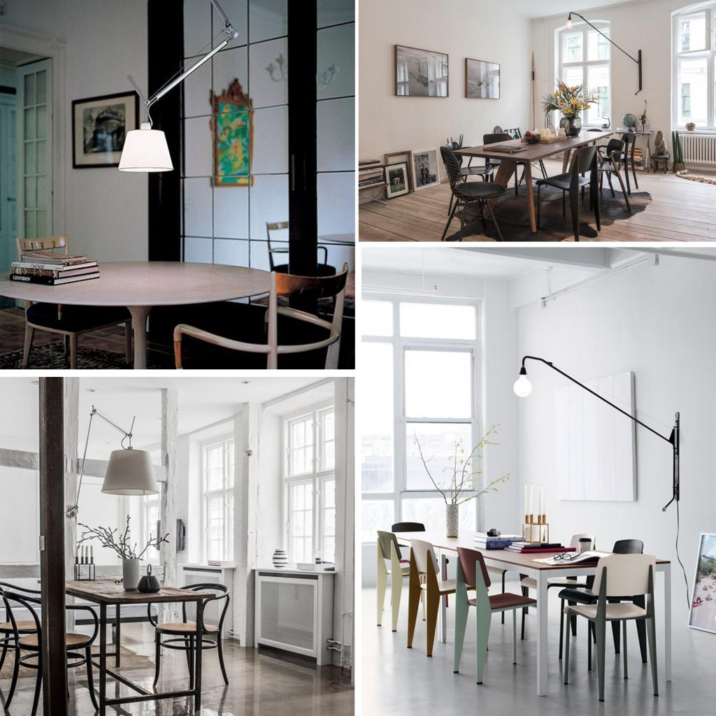 Come scegliere le lampade della casa la sala da pranzo sleek tips - Lampade sopra tavolo da pranzo ...